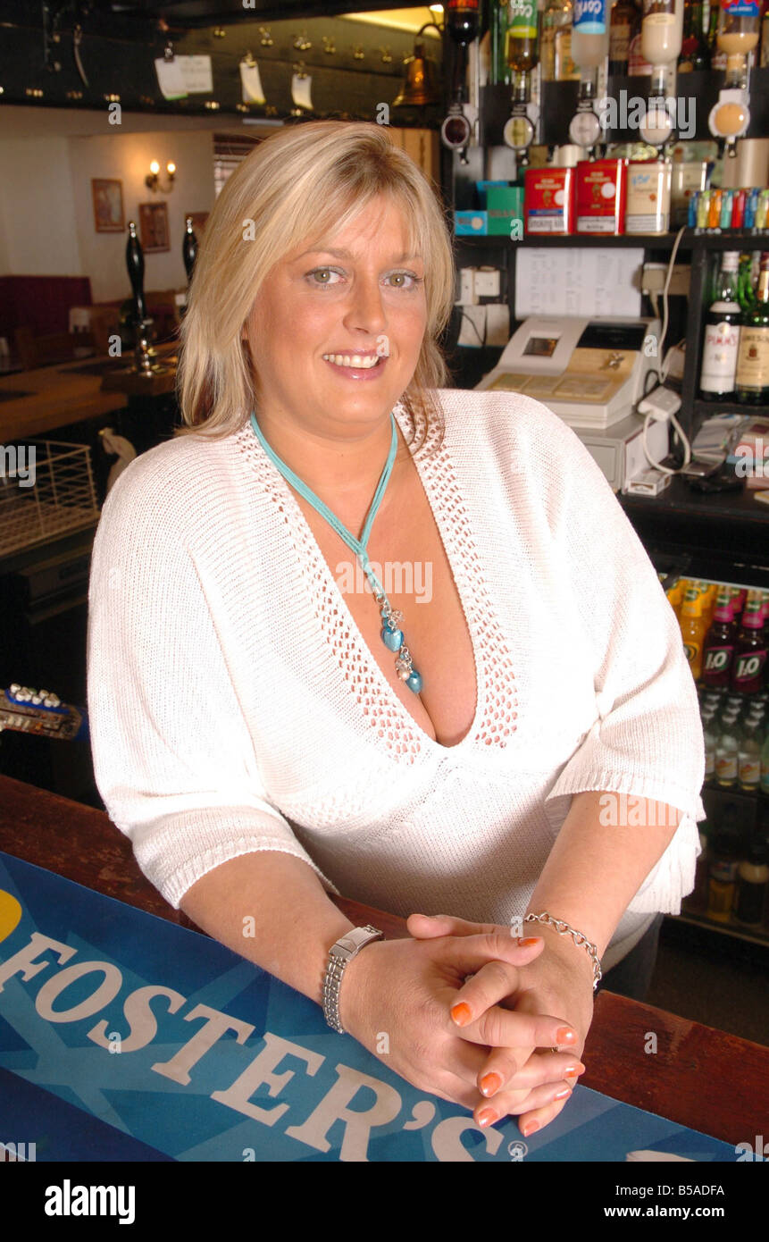 Sophy Delavigne 35 year old pub manager from Chobham Surrey went to the holiday resort of Sharm El Sheikh Egypt - Stock Image