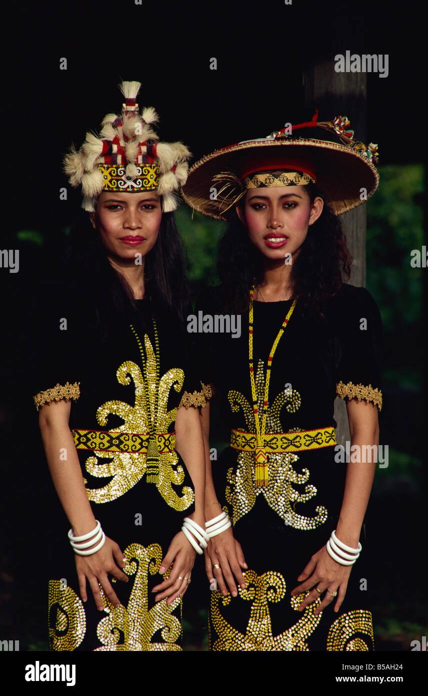 Orang Ulu tribal people Borneo Malaysia Southeast Asia Aisa Stock Photo