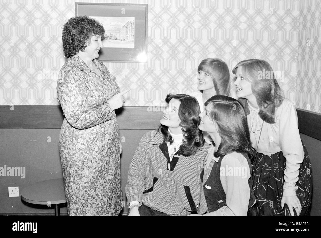Maureen Nolan mother of the Nolan sisters seen here in the