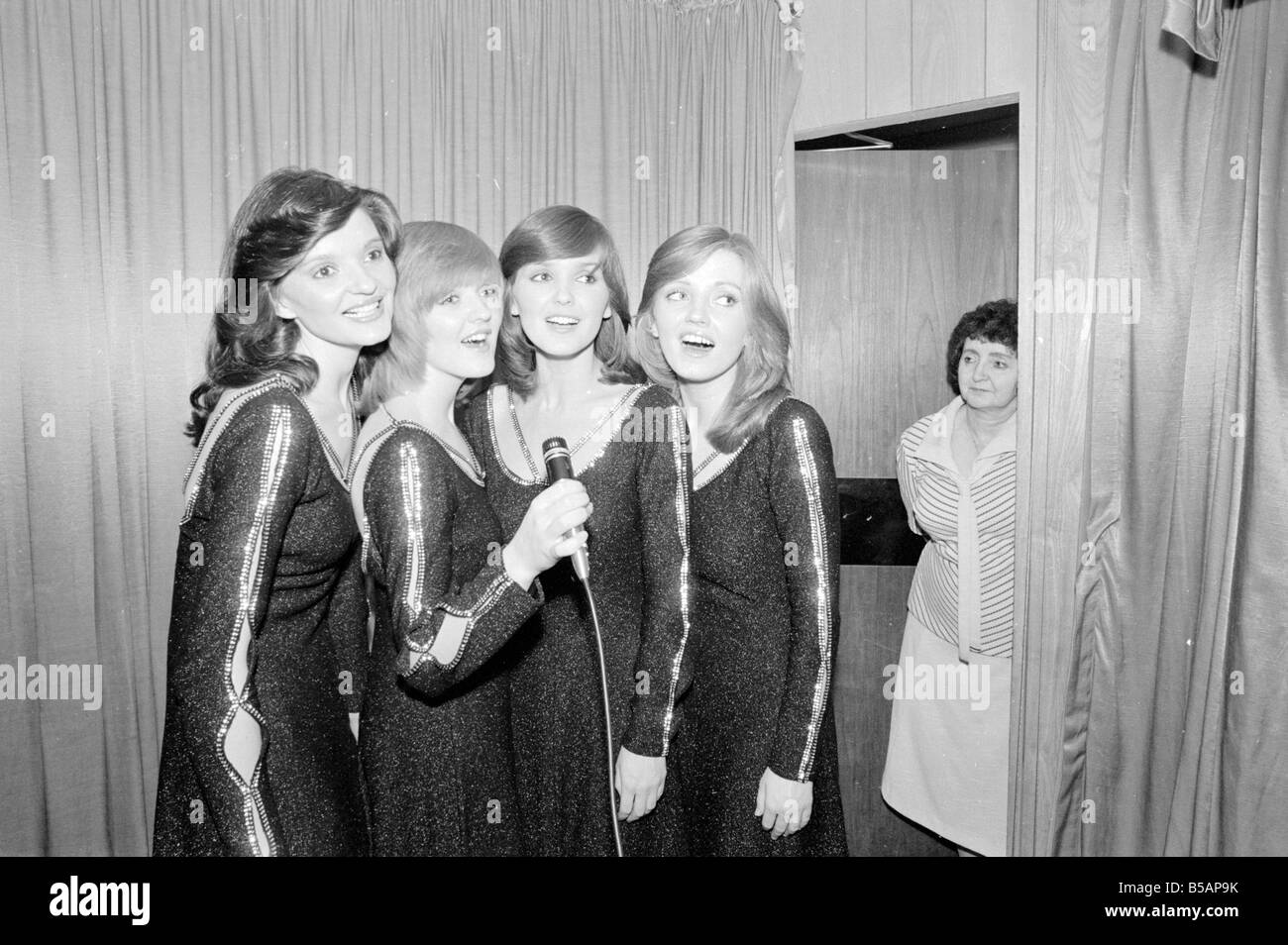 Maureen Nolan mother of the Nolan sisters seen here with the