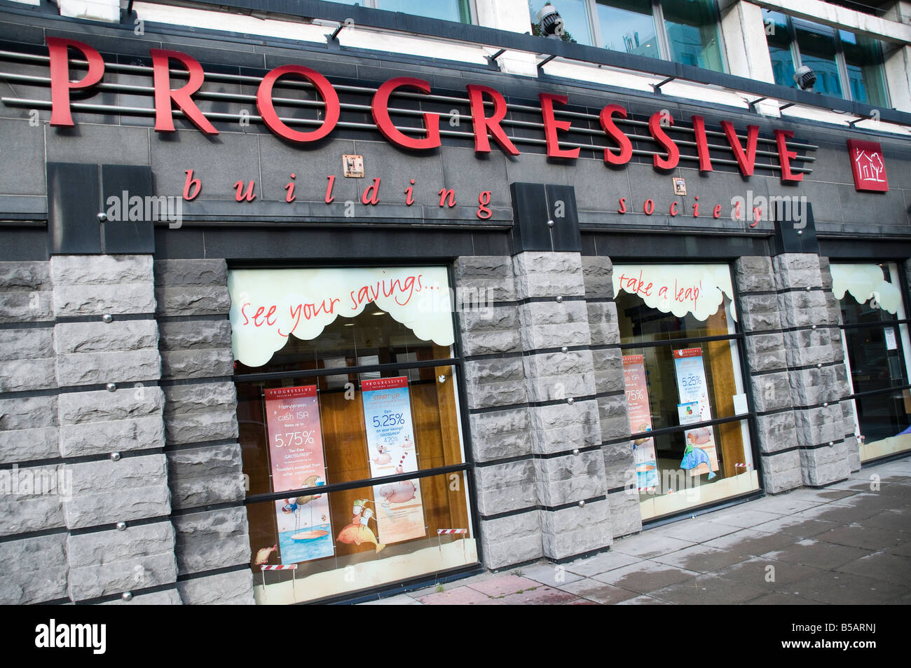 Progressive Building Society headquarters, Belfast - Stock Image