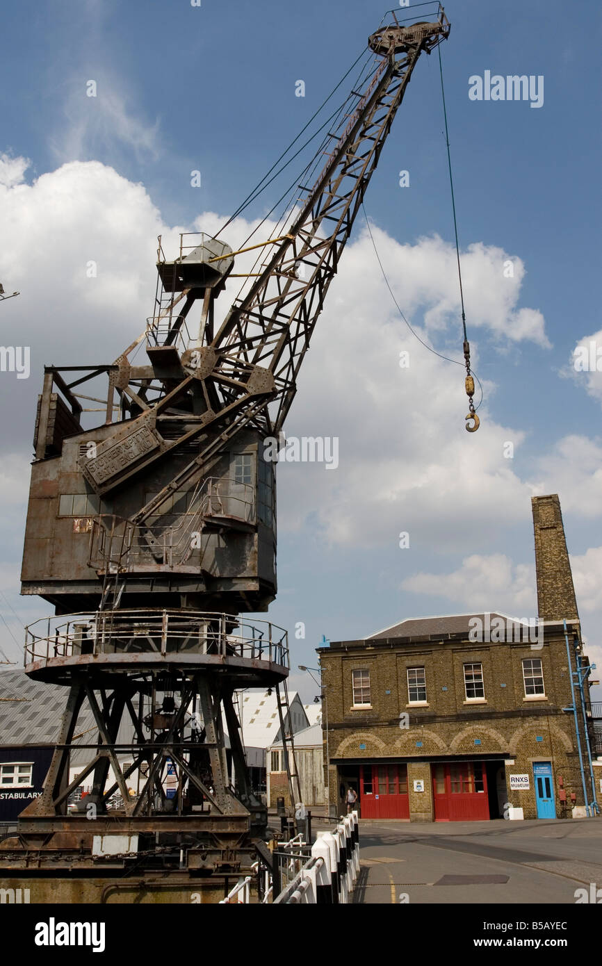 Chatham Dockyard - Stock Image