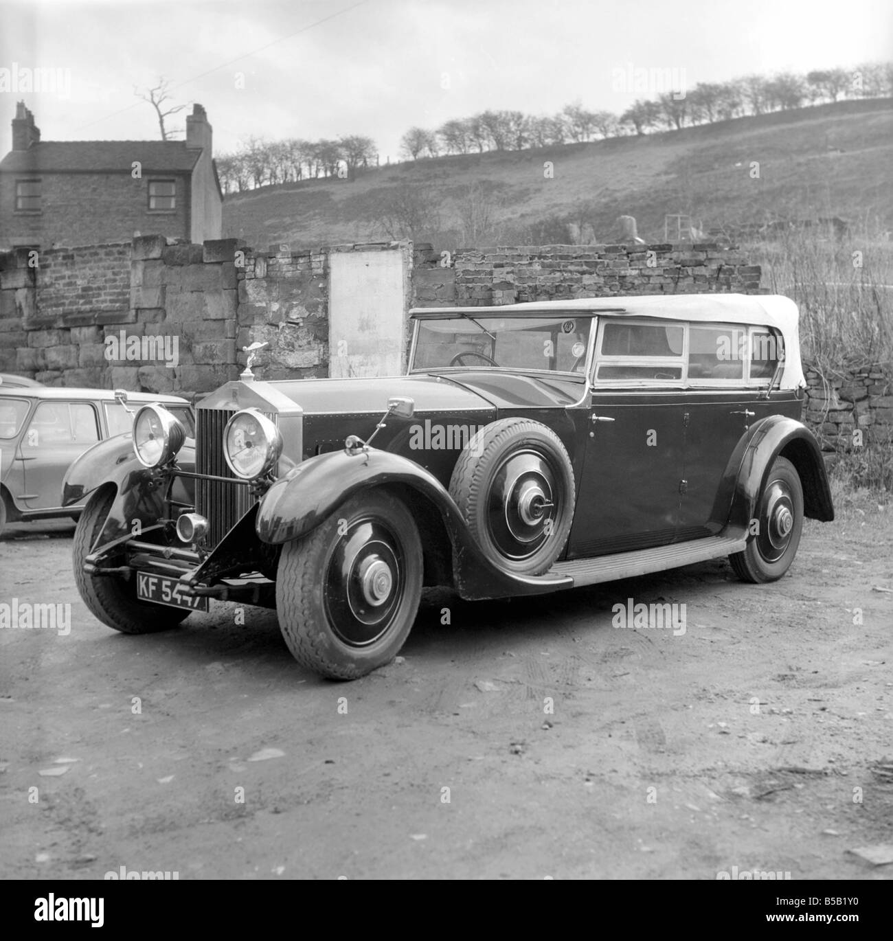 Rolls Royce Cars Black and White Stock Photos & Images - Alamy