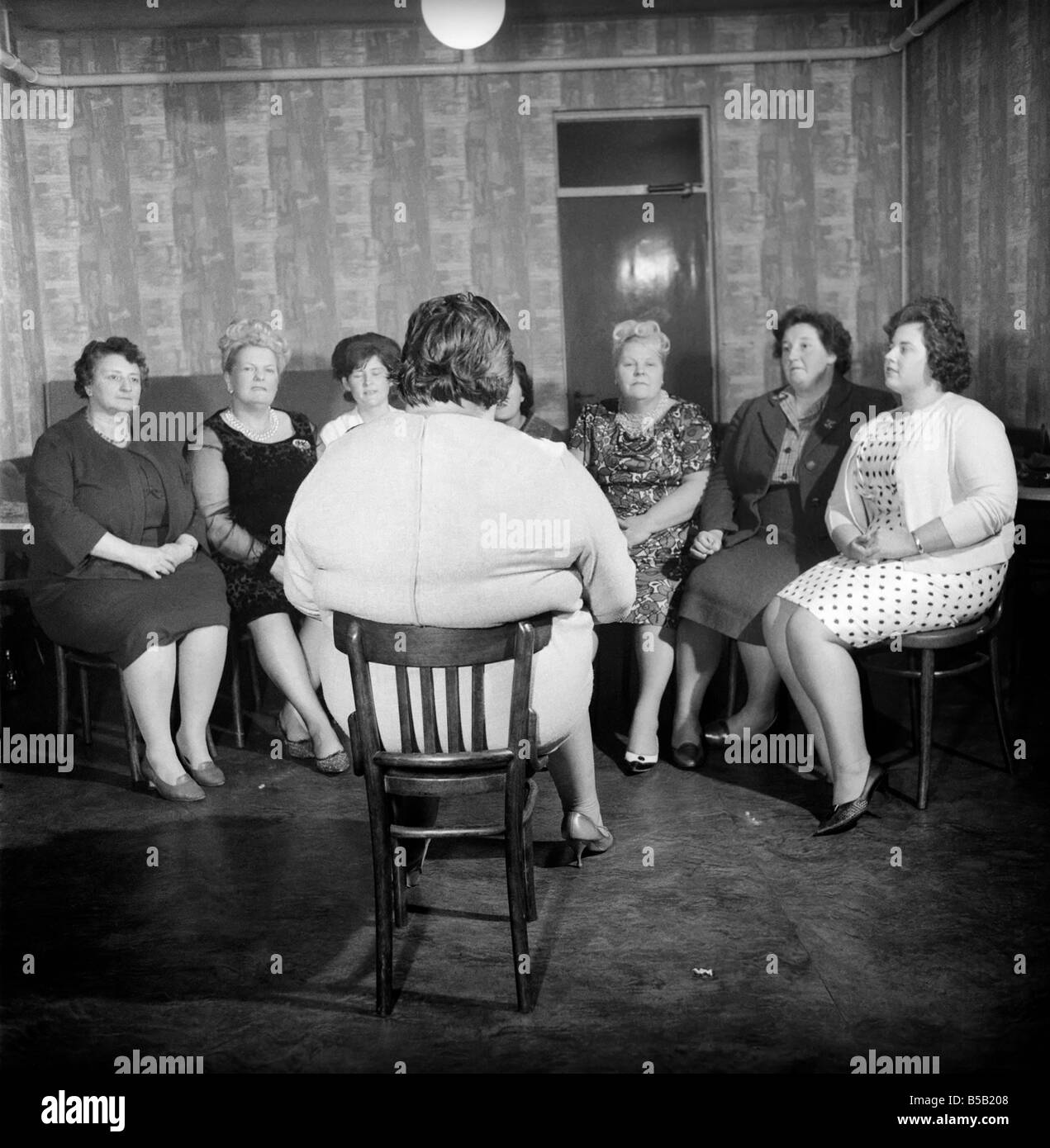 Members of the Southampton Fat Ladies Club gather for their