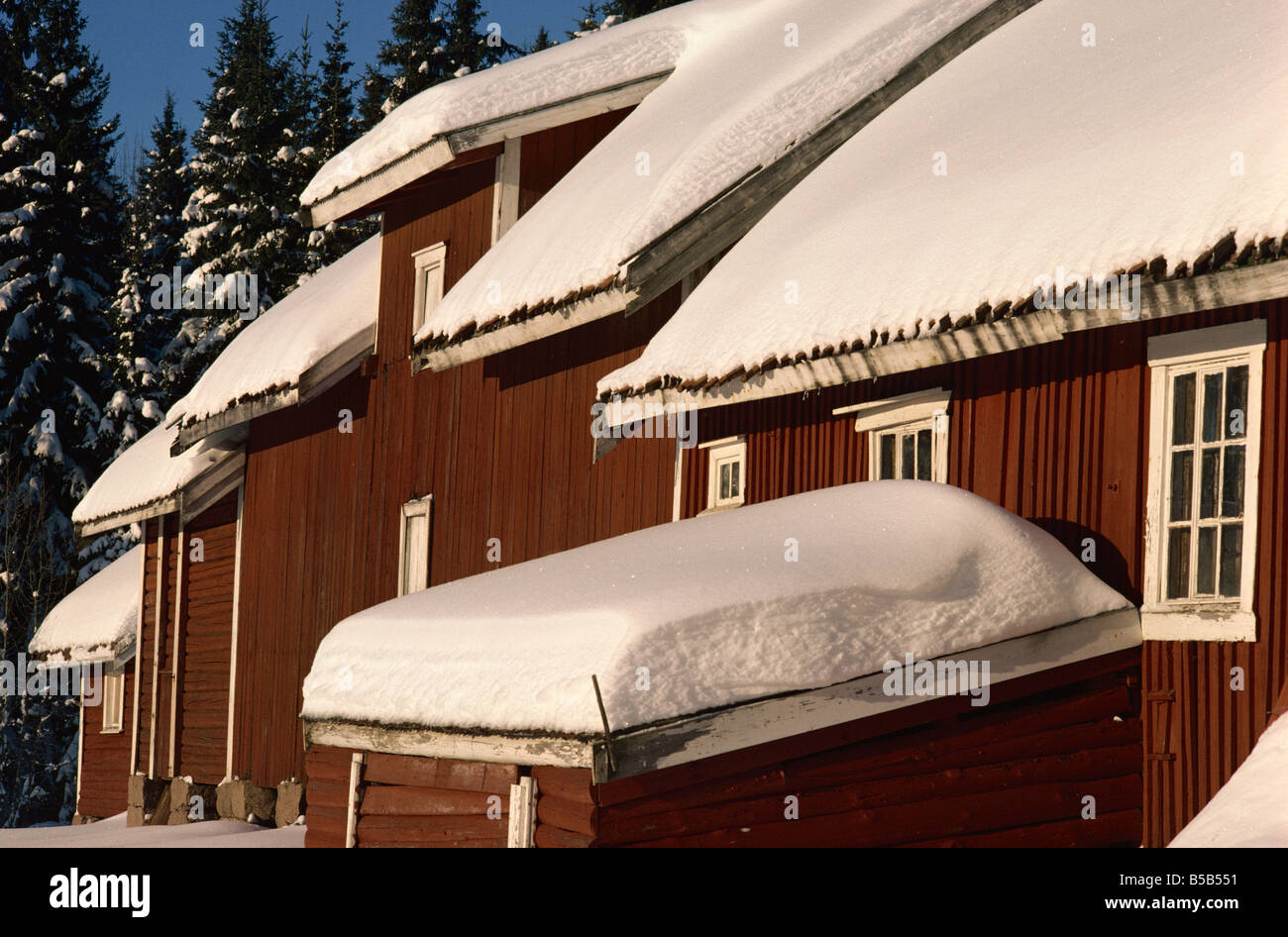 7a576c95 Barn at Lorenseter, Nordmarka, Oslo, Norway, Scandinavia, Europe ...