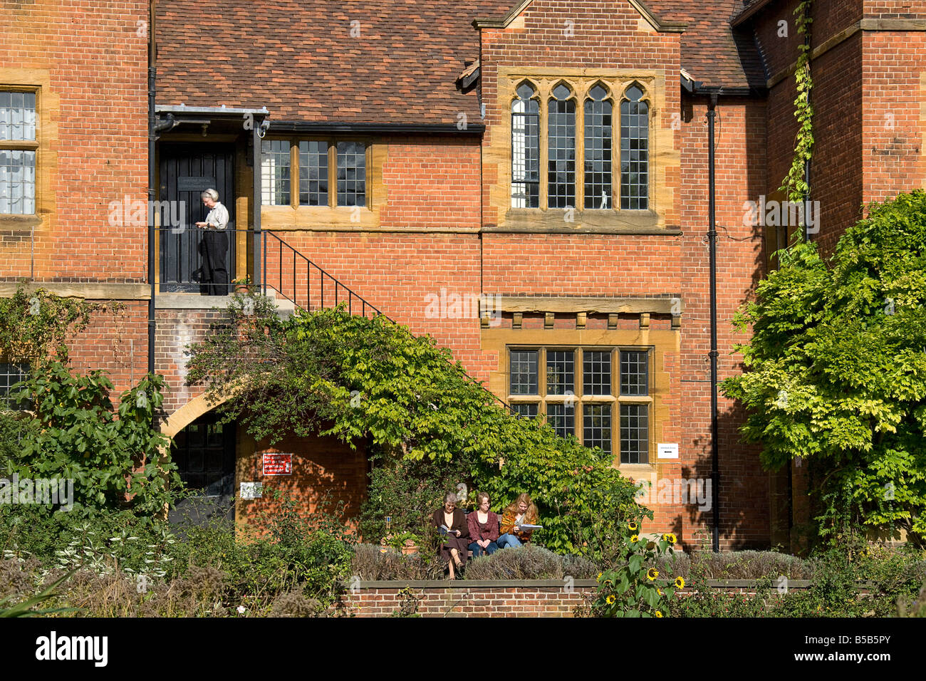 Westcott House from the grounds. - Stock Image