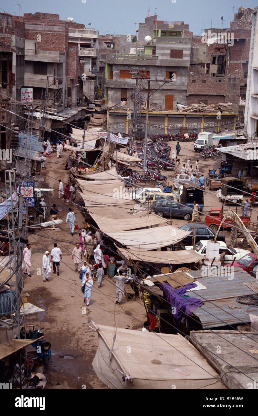 The Old City area in Lahore Punjab Pakistan Asia D C Poole Stock Photo
