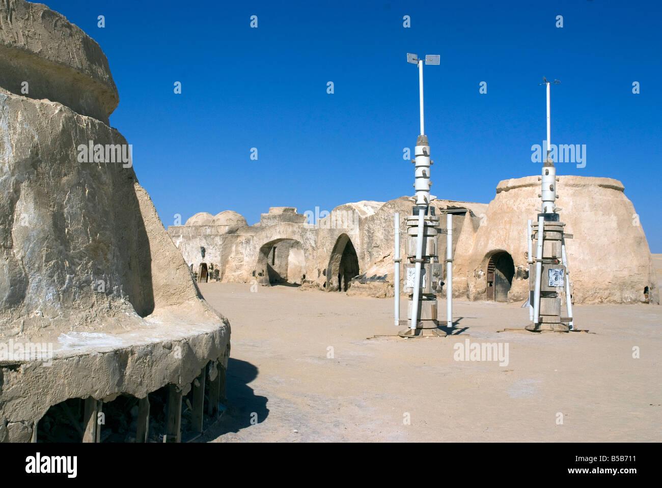 star wars set near nefta tunisia north africa africa stock photo