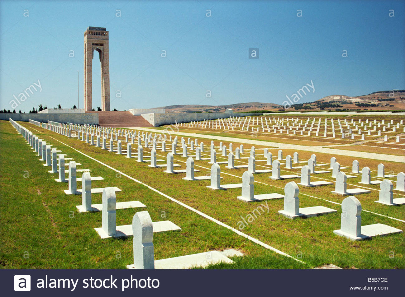 Monument of Martyrs, Bizerte, Tunisia, North Africa, Africa - Stock Image