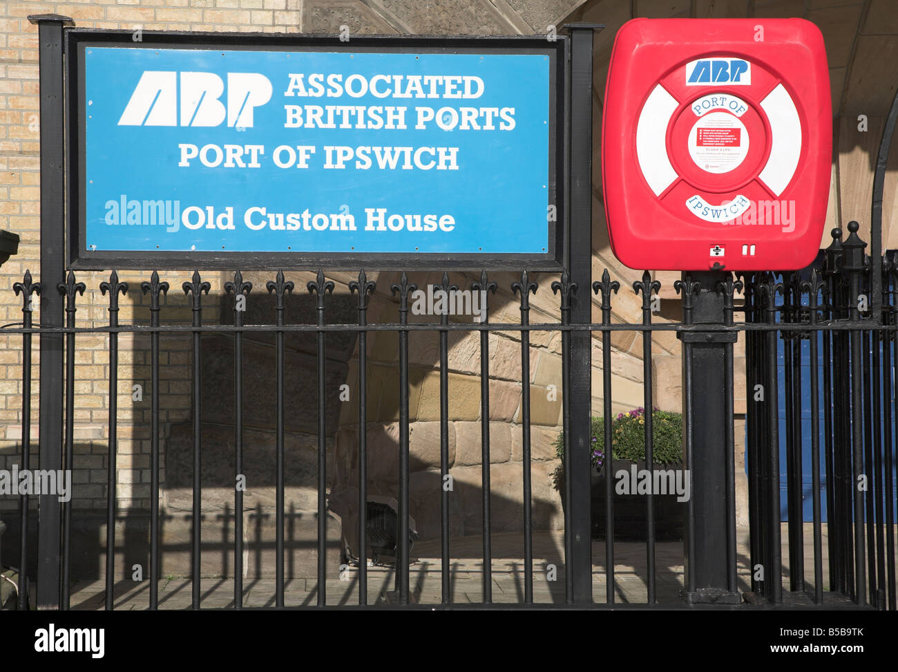 Associated British Ports Port of Ipswich Old Custom House Ipswich Suffolk England - Stock Image