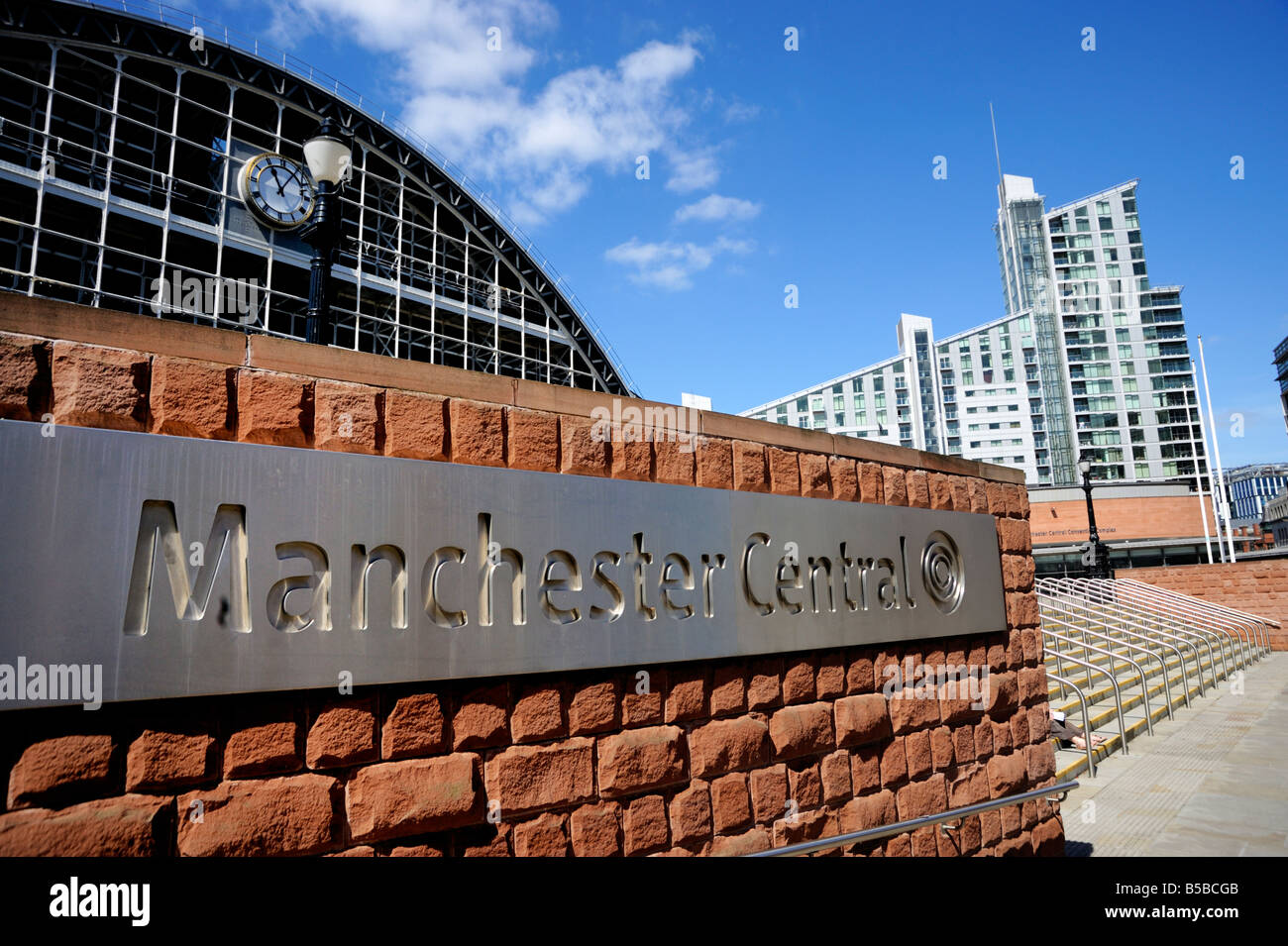 Gmex Centre, Manchester Central, Manchester, England, Europe - Stock Image