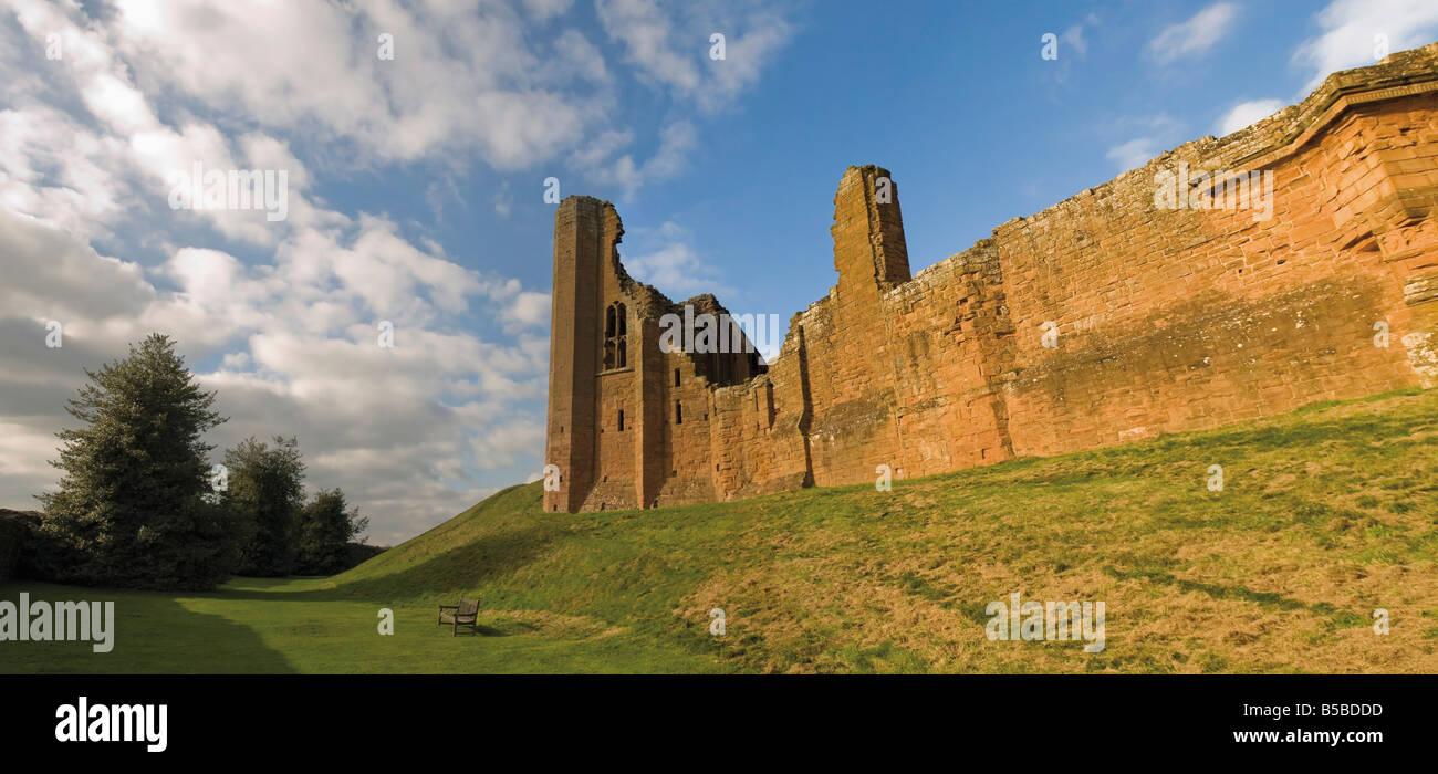 Kenilworth Castle Warwickshire England United Kingdom Europe - Stock Image