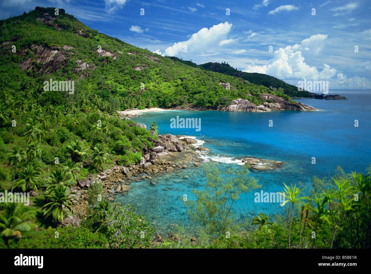 Seychelles Indian Ocean Africa - Stock Image