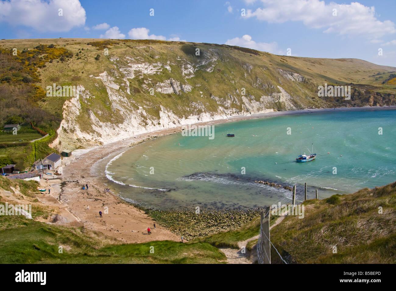 Lulworth Cove, Dorset, England, Europe - Stock Image