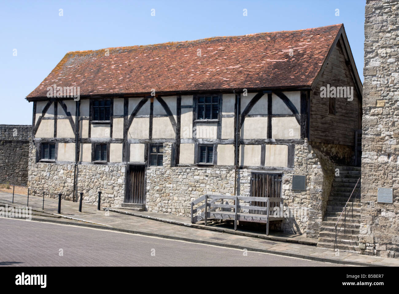 Tudor Merchants Hall, Southampton, Hampshire, England, Europe Stock Photo