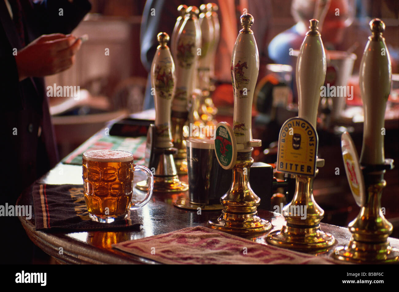 Interior of the Sun Pub, London, England, Europe - Stock Image