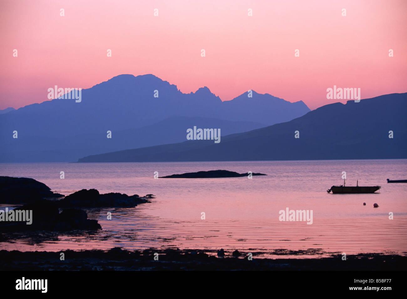 Ord, Strathaird, Highlands, Scotland, Europe - Stock Image