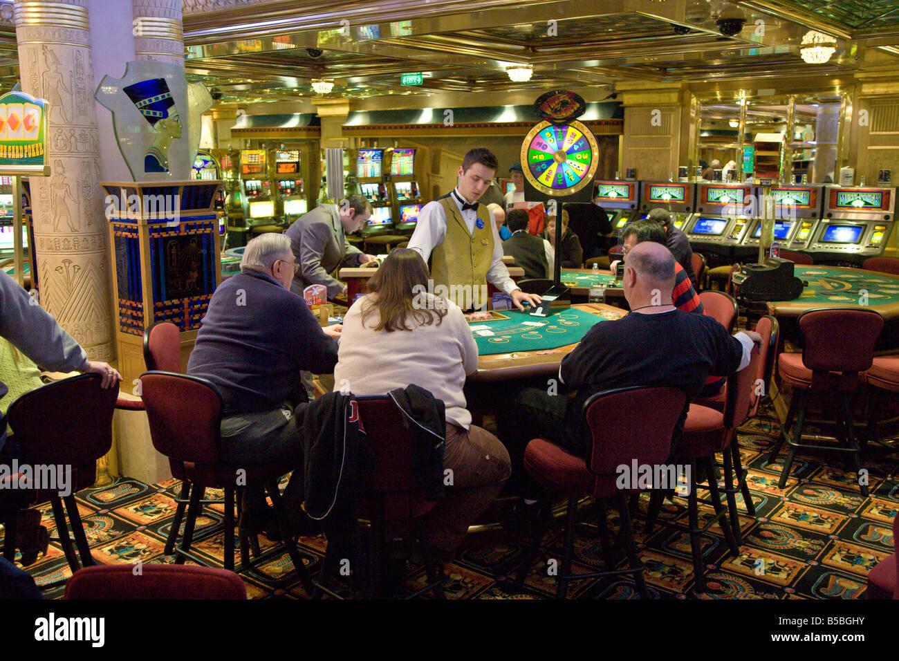 Cruise ship casino jobs