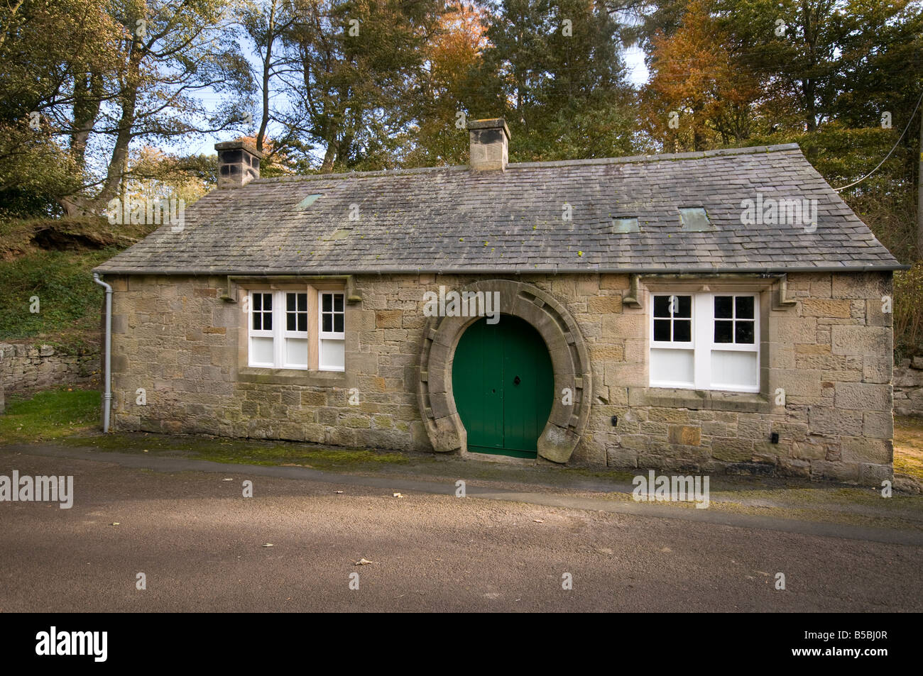 The Old Smithy, Ford village, Northumberland Stock Photo