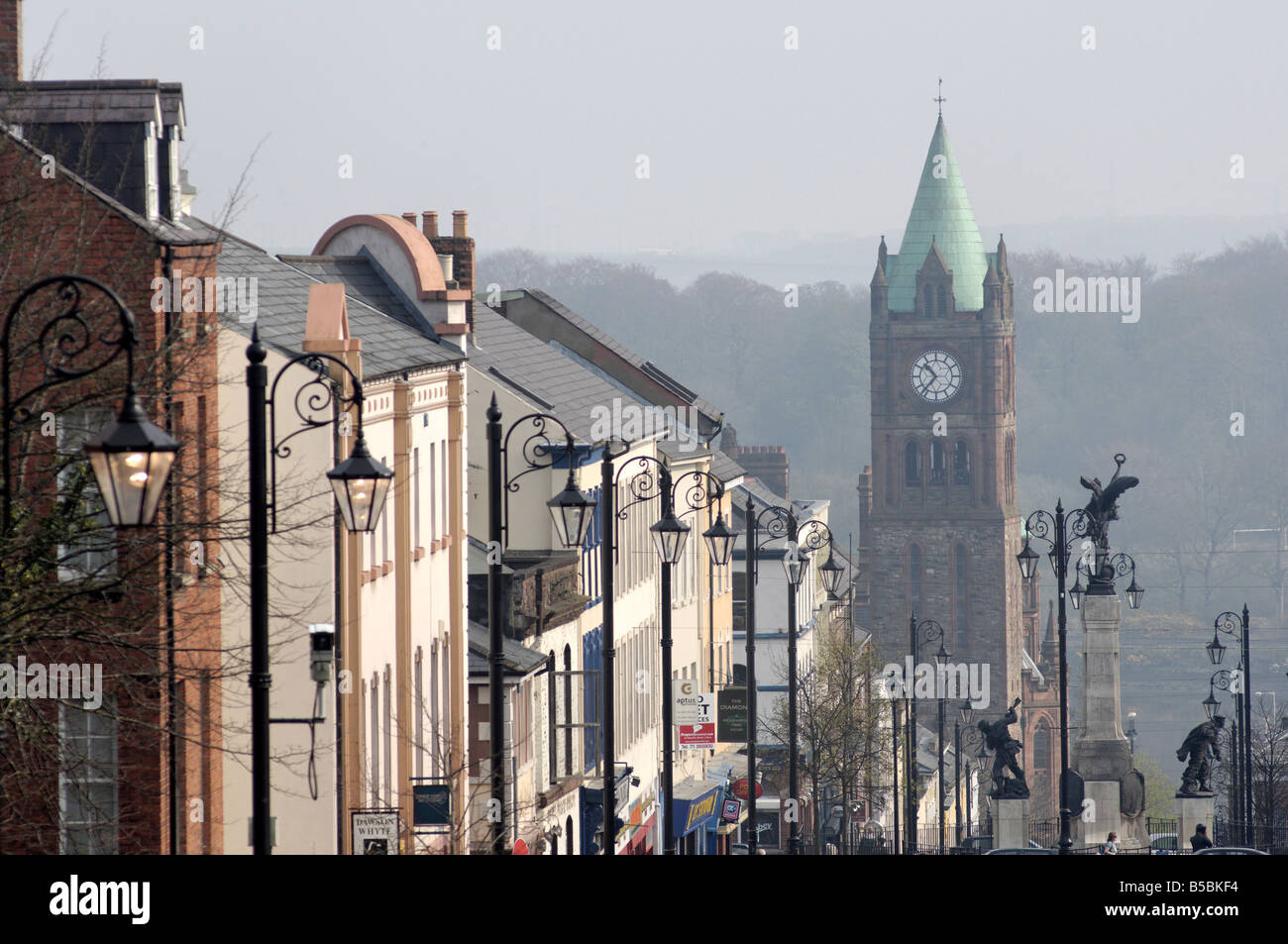 City of Derry, Ulster, Northern Ireland, , Europe - Stock Image