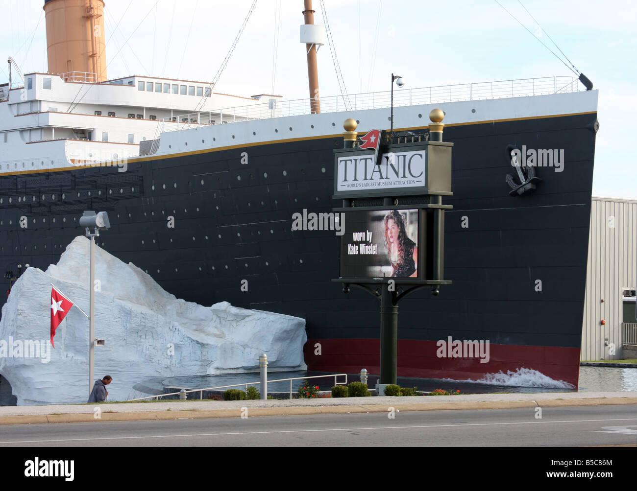The Titanic Museum in Branson Missouri - Stock Image