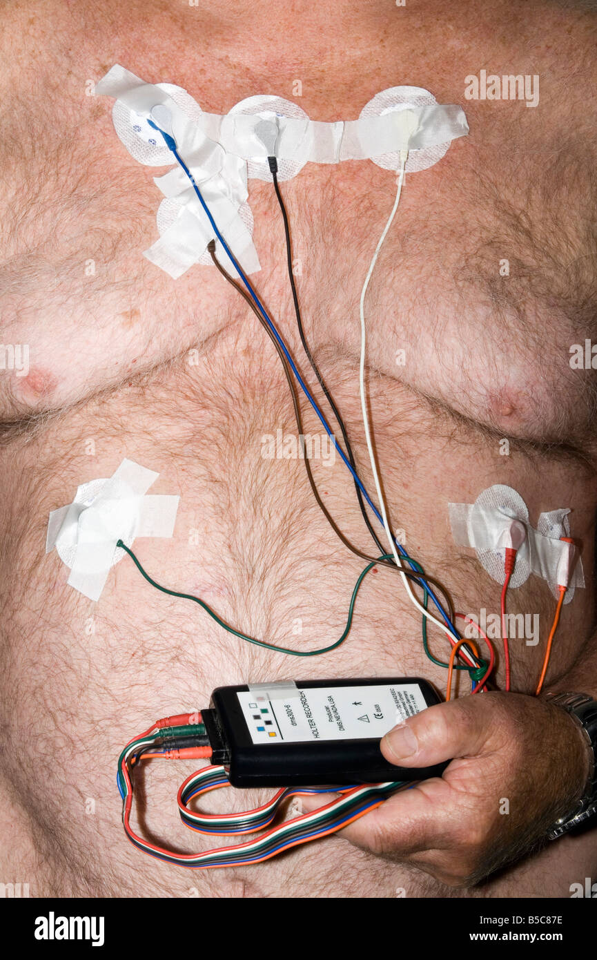how to wear a holter monitor