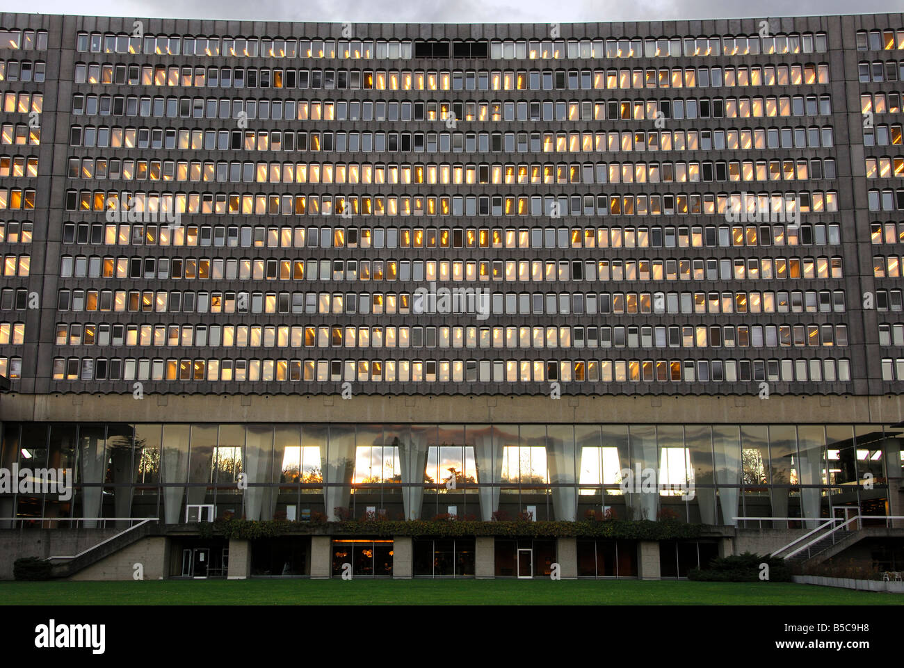 Headquarters of the International Labour Organization ILO Geneva Switzerland - Stock Image