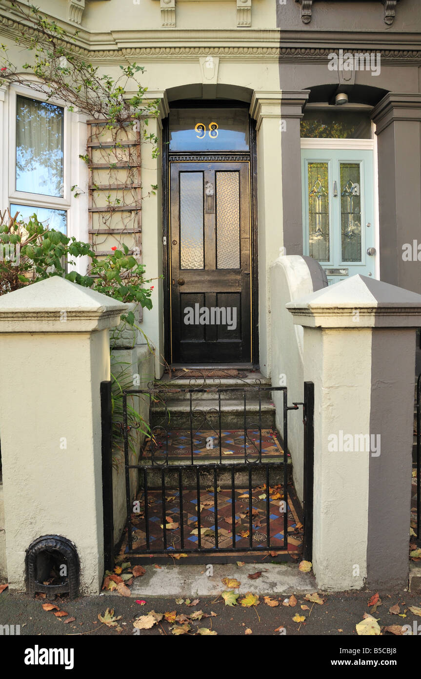 Victorian Stained Glass Front Door British Housing Brighton And