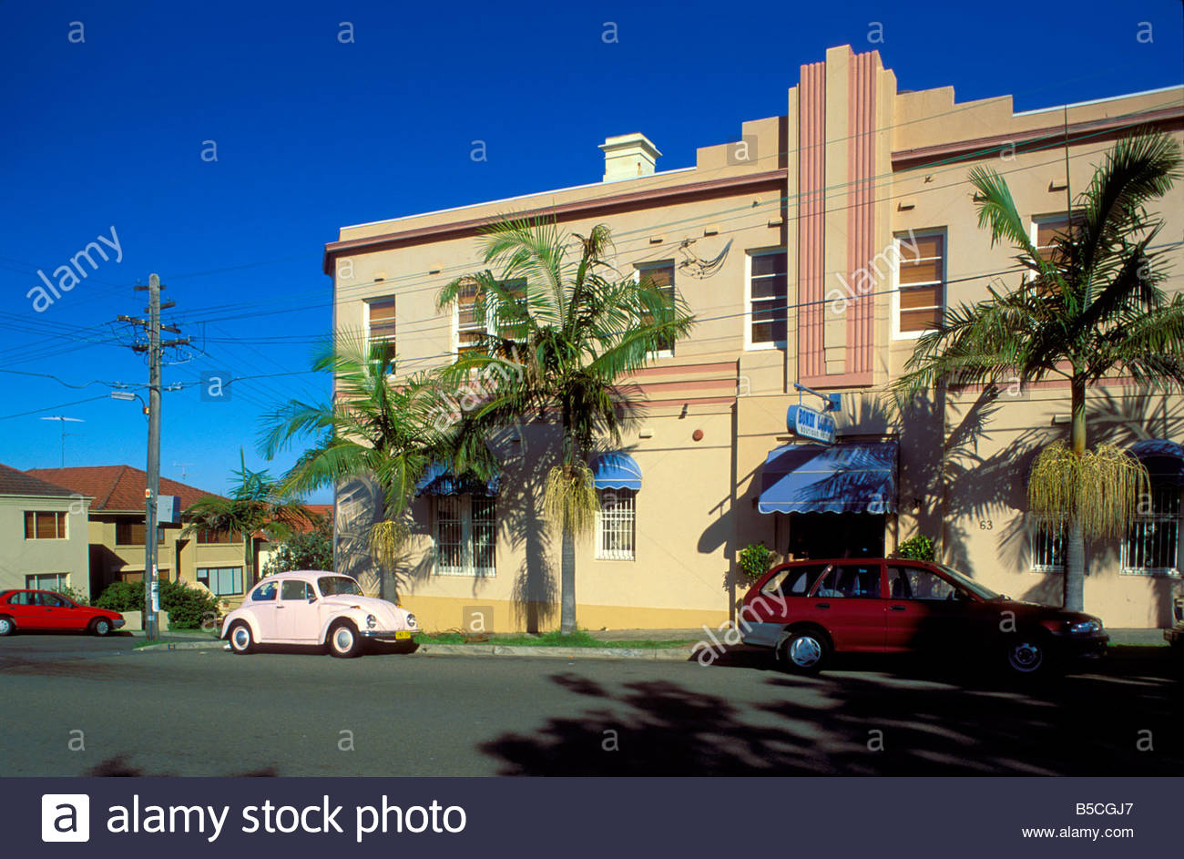 Bondi Hotel Bondi Beach Australia Holidays Stock Photos