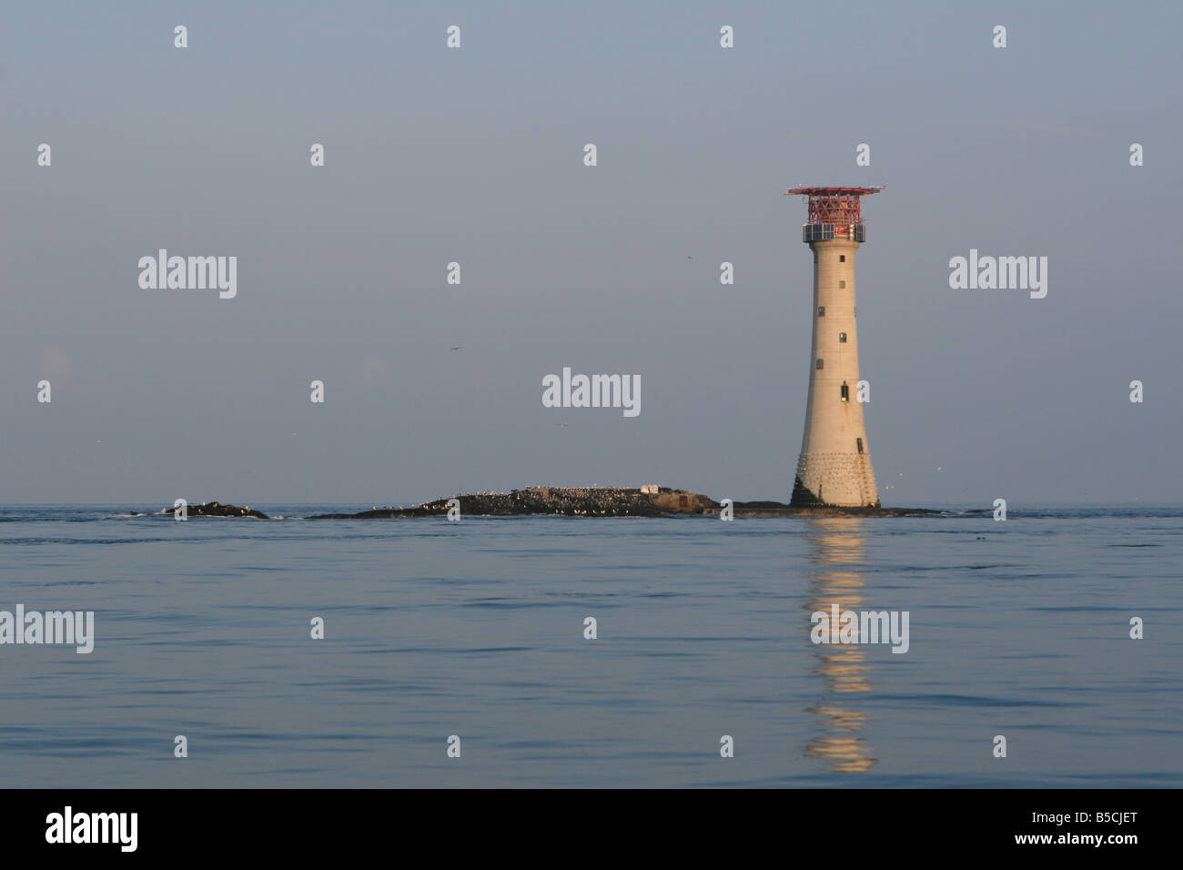 The Smalls lighthouse - Stock Image