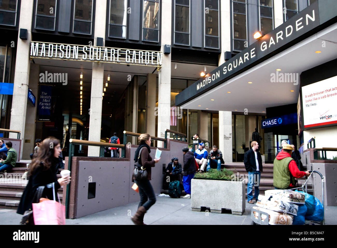 Madison Square Garden Stock Photos Madison Square Garden Stock Images Alamy