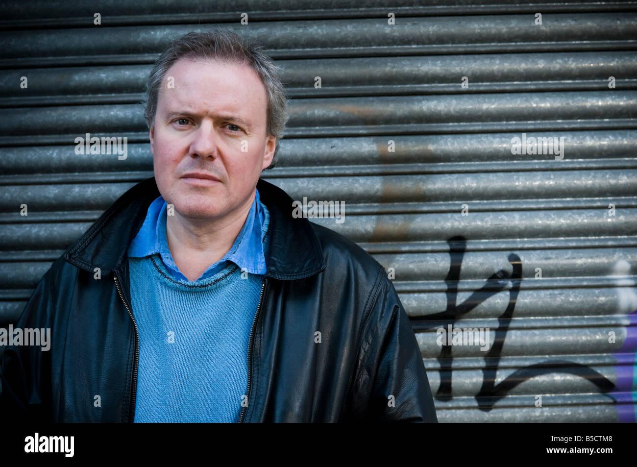 award winning welsh language novelist and playwright W O Wil William Owen Roberts - Stock Image