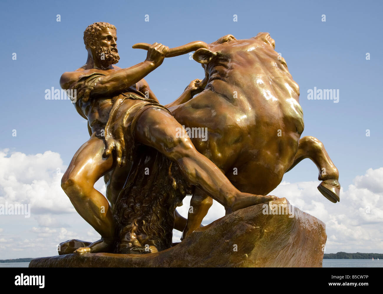 Golden Bull Stock Photos Golden Bull Stock Images Alamy