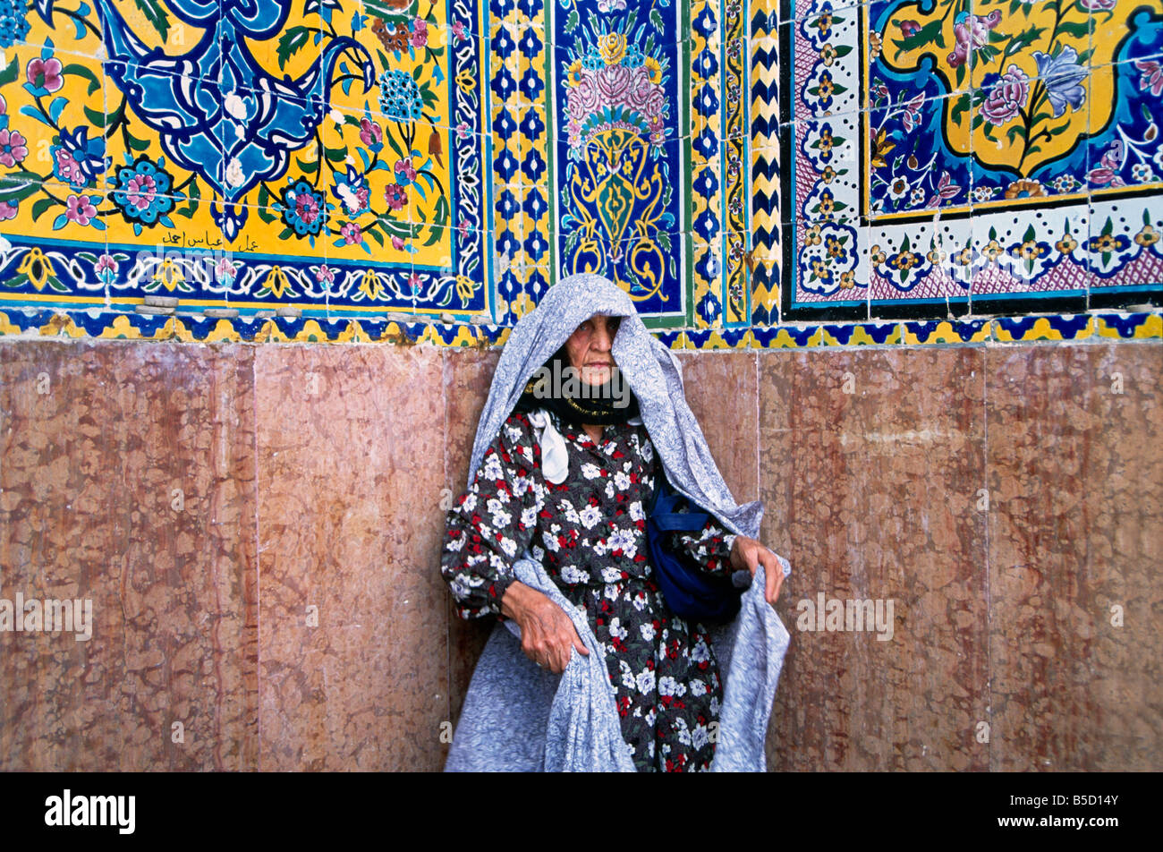 Najaf Iraq Holy Shrine Of Imam Ali Ibn Abi Talib Shi'ite Place Of  Pilgrimage Where Ali's Tomb Is Venerated Shi'ite - Stock Image