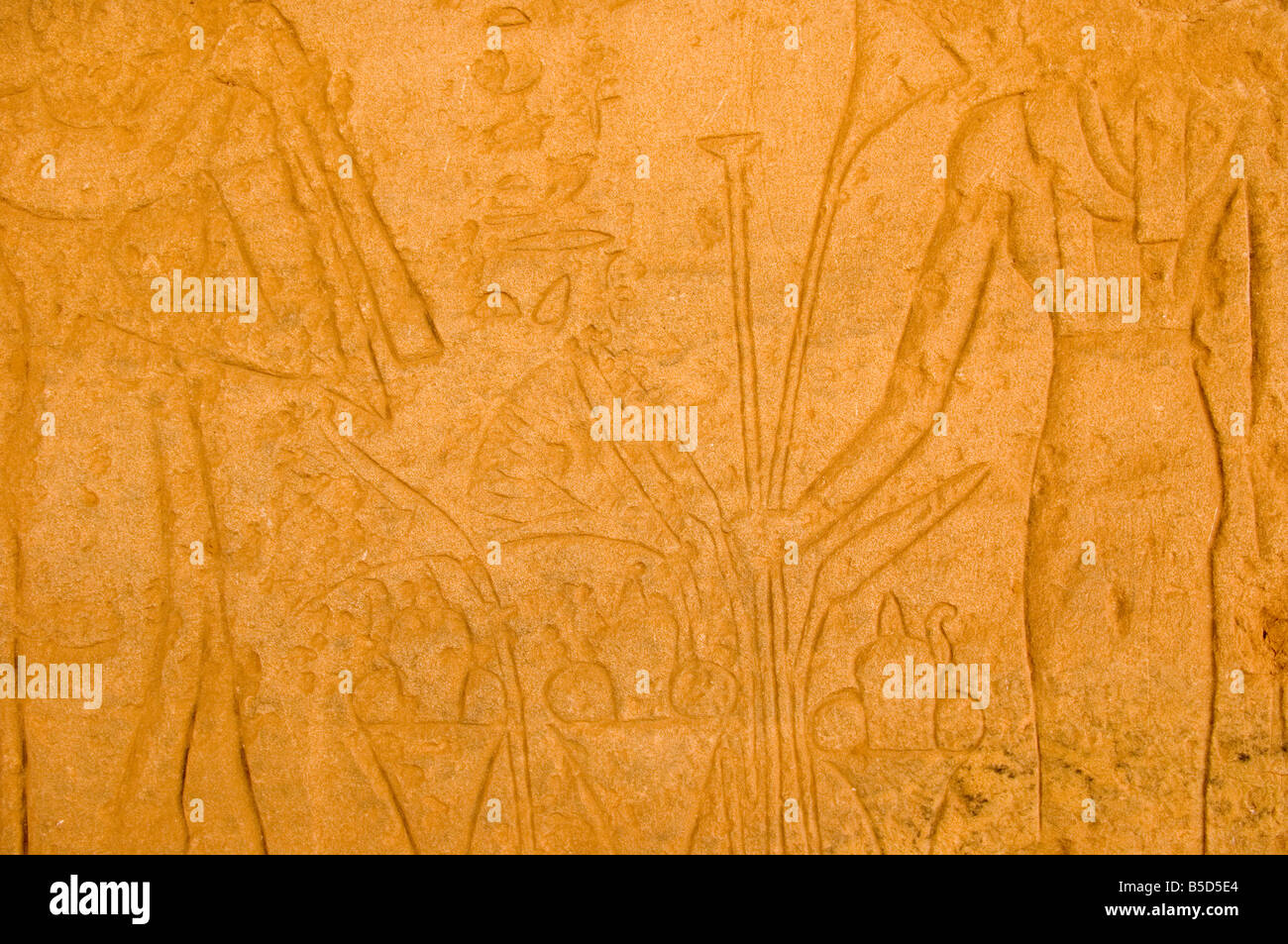 Nubian temples of Buhen and Semna, saved from land flooded by Lake Nasser, National Museum, Khartoum, Sudan, Africa - Stock Image