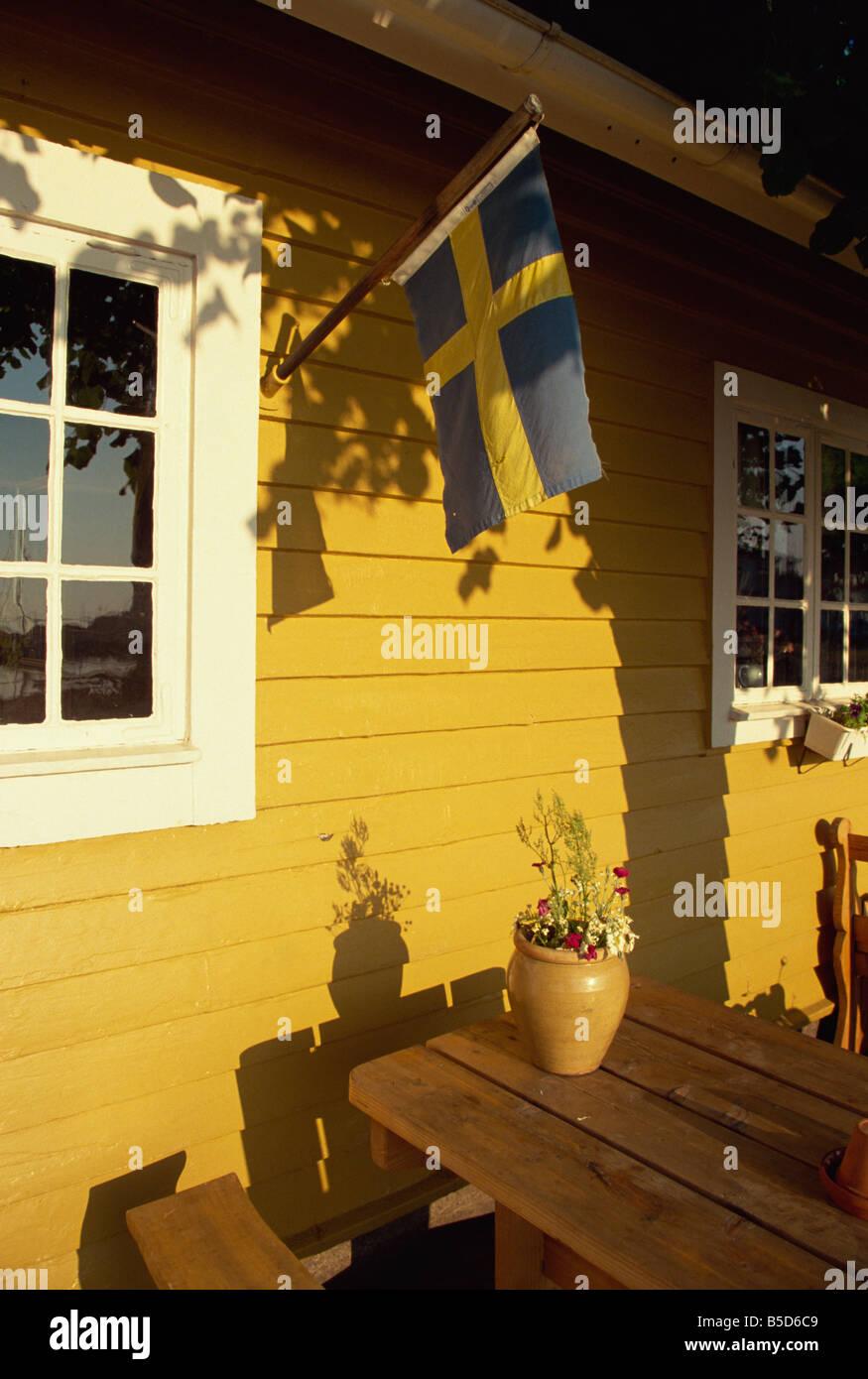 Local architecture Kalmar Sweden Scandinavia Europe - Stock Image