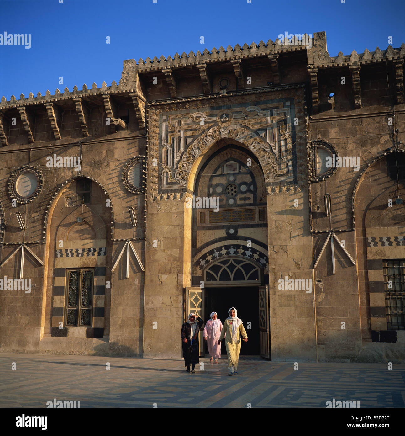 The Grand Mosque, founded in 715, Aleppo, UNESCO World Heritage Site, Syria, Middle East Stock Photo