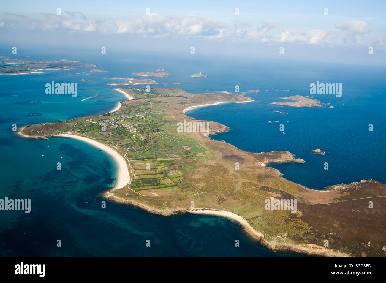 St. Martins, Isles of Scilly, off Cornwall, , Europe - Stock Image