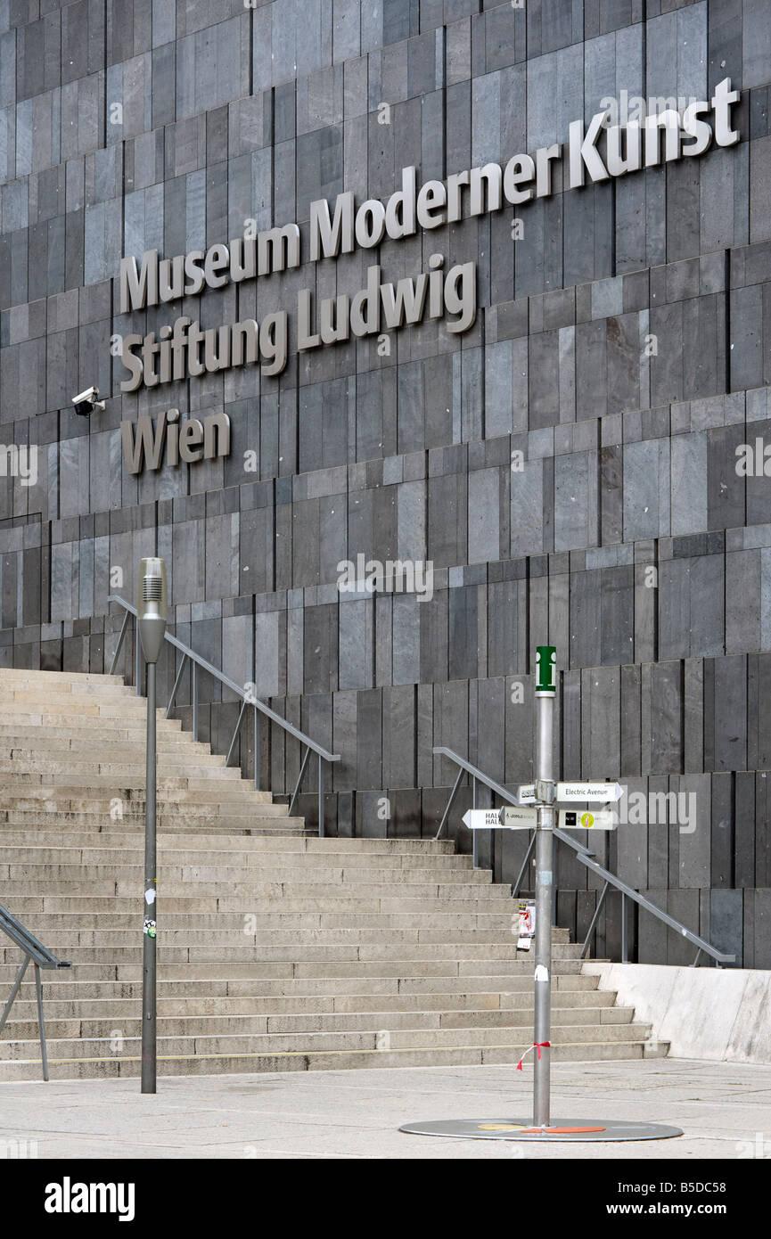 Museum Moderner Kunst - Stock Image