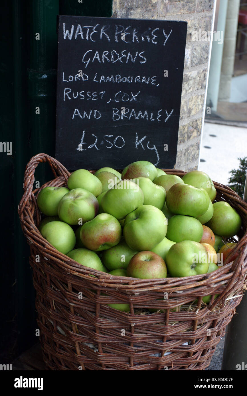 Local Produce - Stock Image