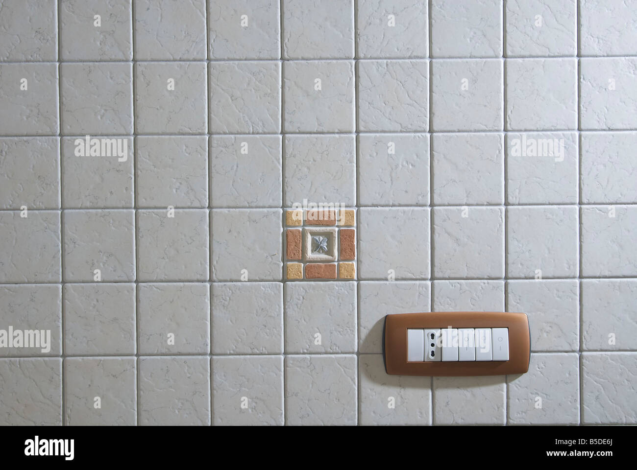 electric light switches and outlet Stock Photo: 20580186 - Alamy