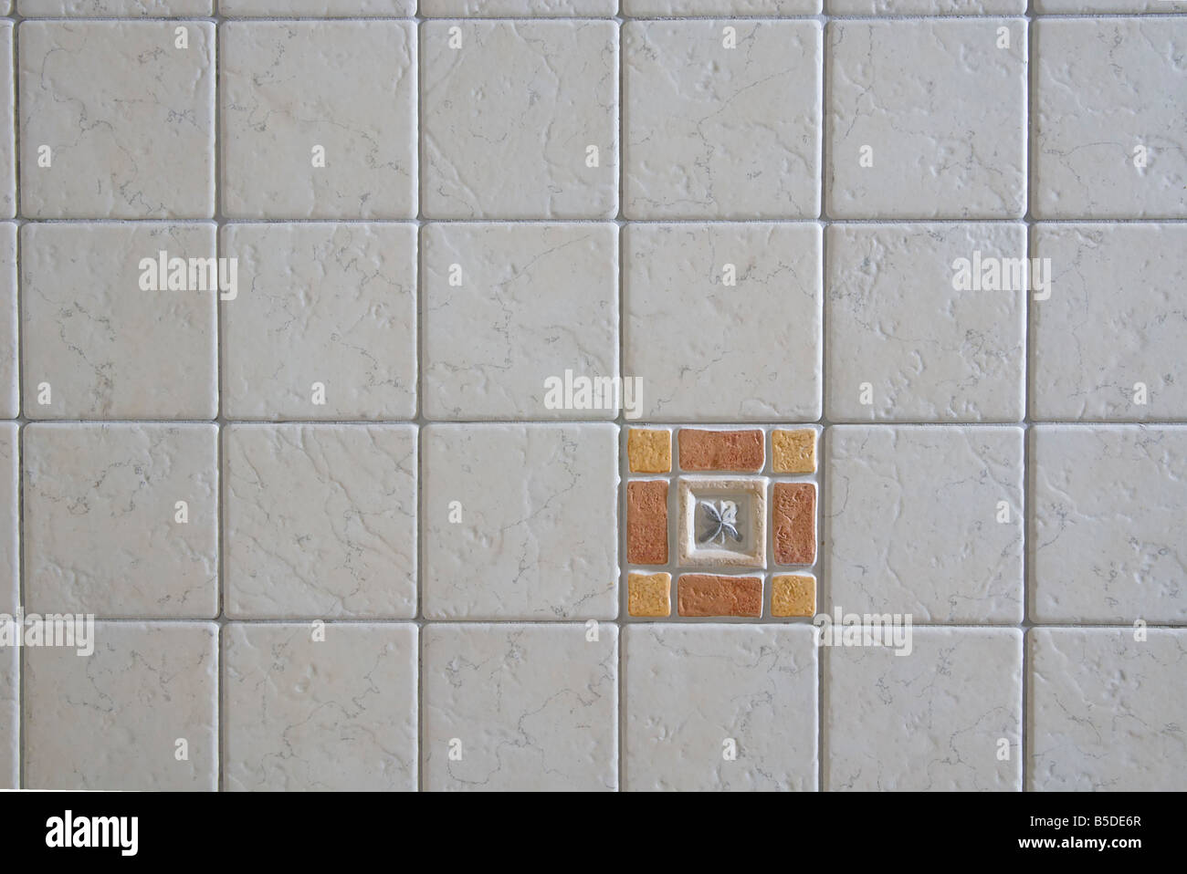 detail of tiles - Stock Image