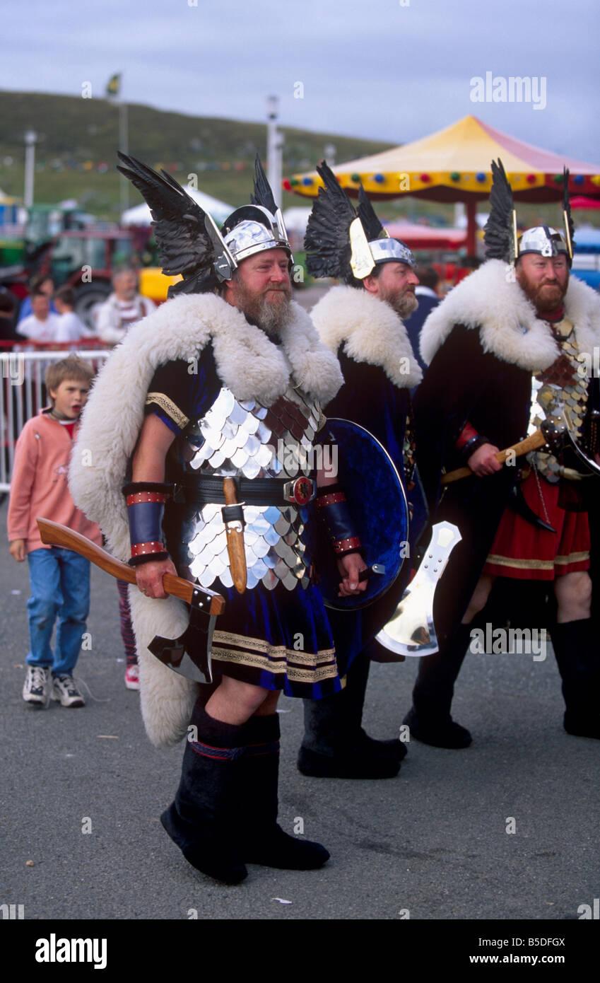 Viking squadron, Lerwick, Mainland, Shetland Islands, Scotland, Europe - Stock Image