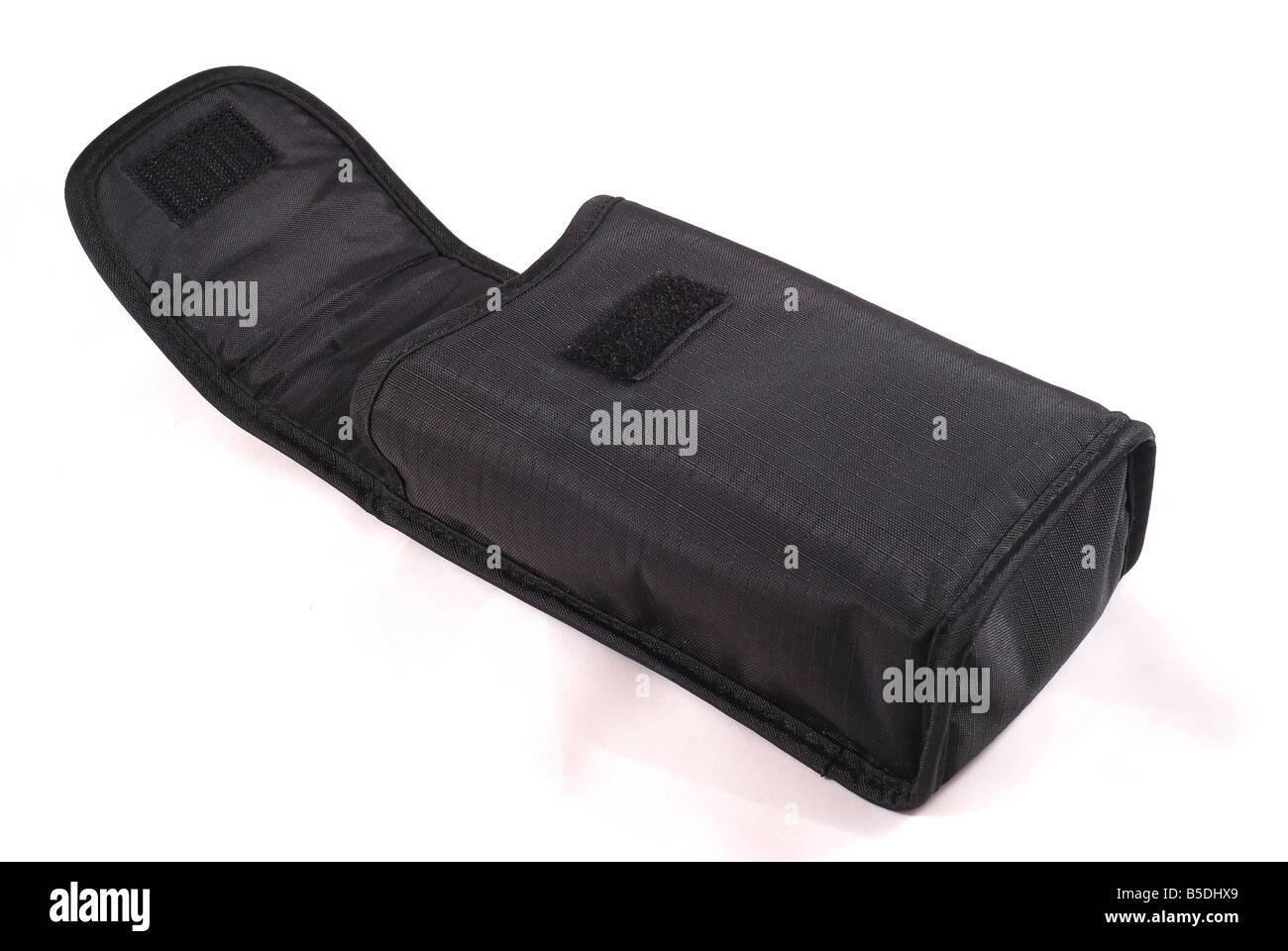 Nikon SB800 flashgun case - Stock Image