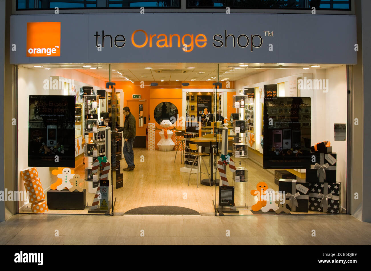 Archive image old orange mobile phone shop milton for Orange mobel