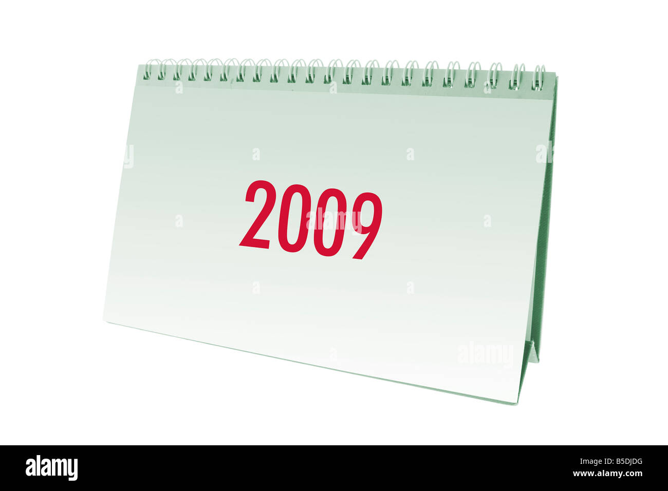 2009 Desk Calendar Stock Photo