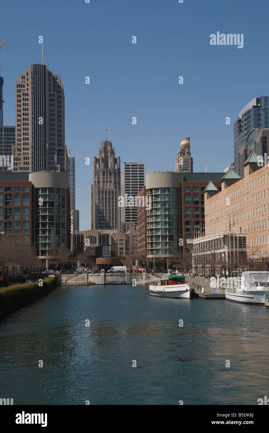 Chicago, Illinois, USA, North America - Stock Image