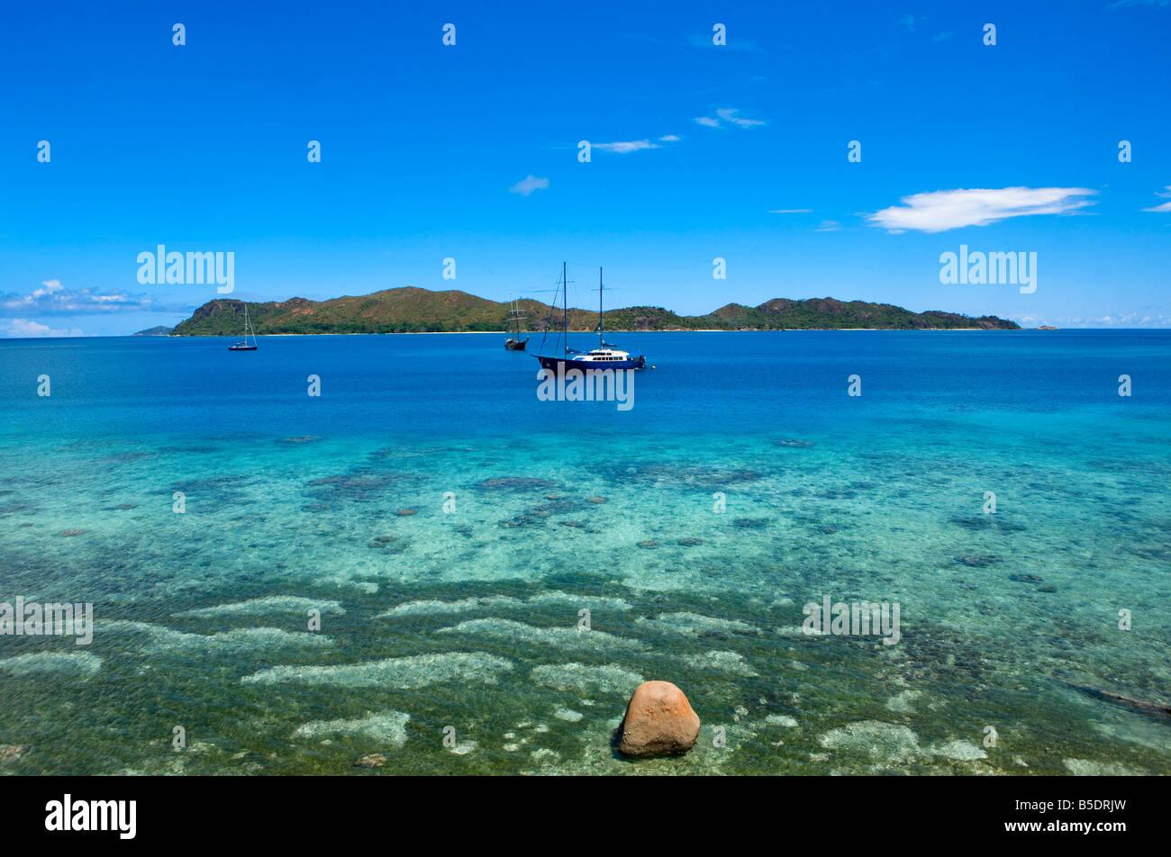 Ile Curieuse Seychelles - Stock Image
