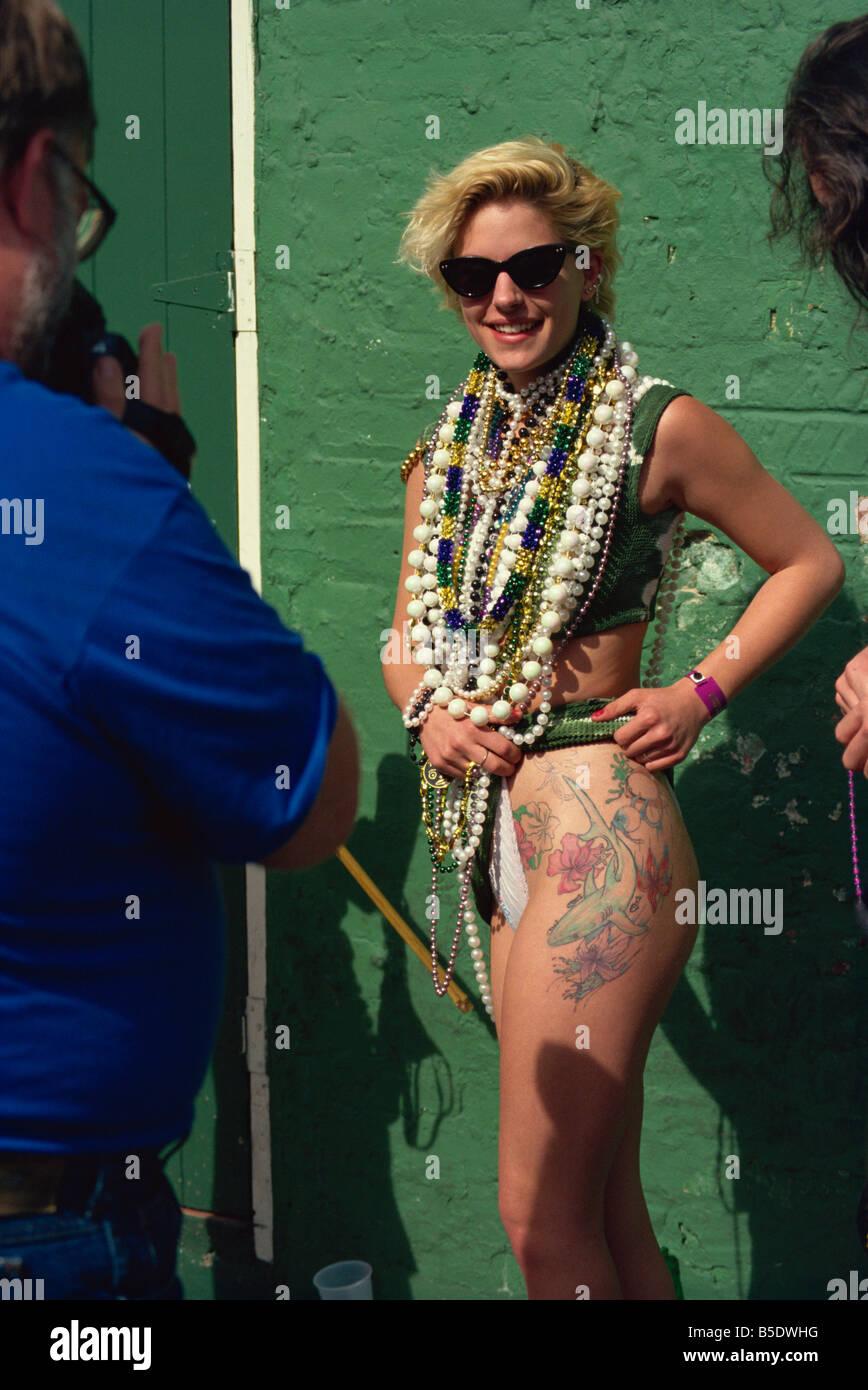 Mardi Gras, New Orleans, Louisiana, USA, North America Stock Photo