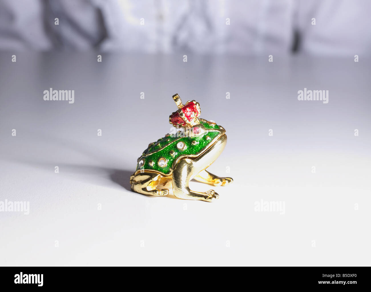 Decorative Frog Prince Stock Photo